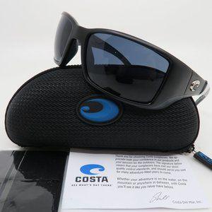 Costa BLACKFIN BL 11 Matte Black/Grey Mirror 580P